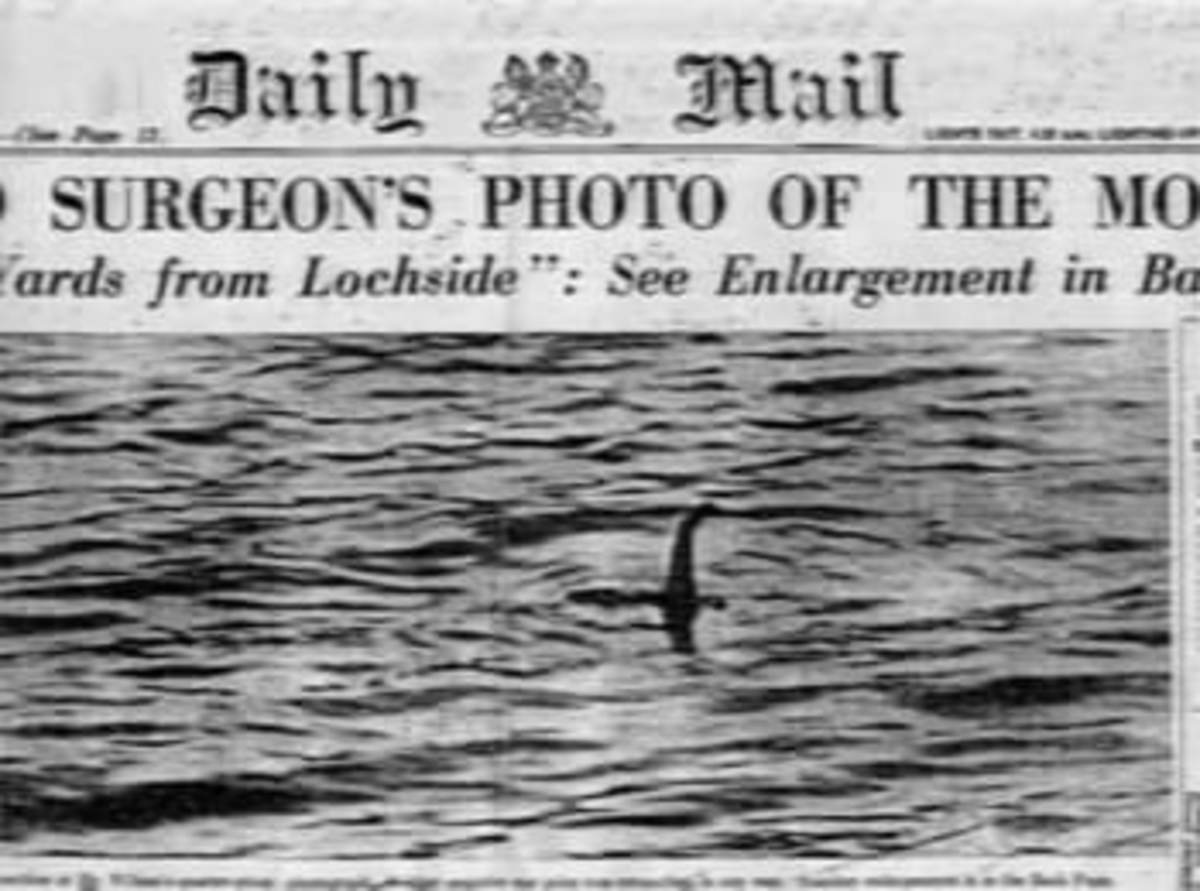 1934 Photo printed in London newspaper