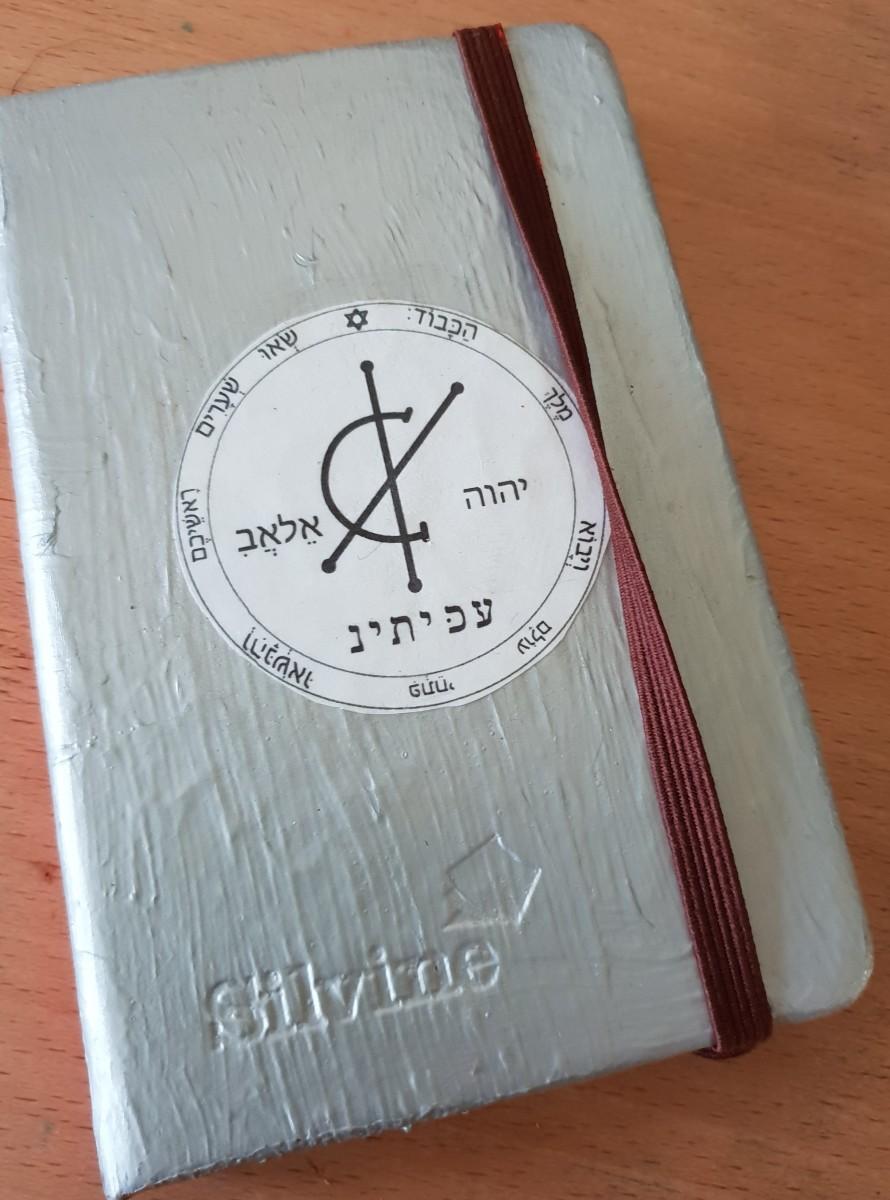 Author's own Magick Cash Book.
