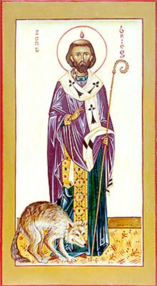 Saint Brieuc, one of the founders of Brittany