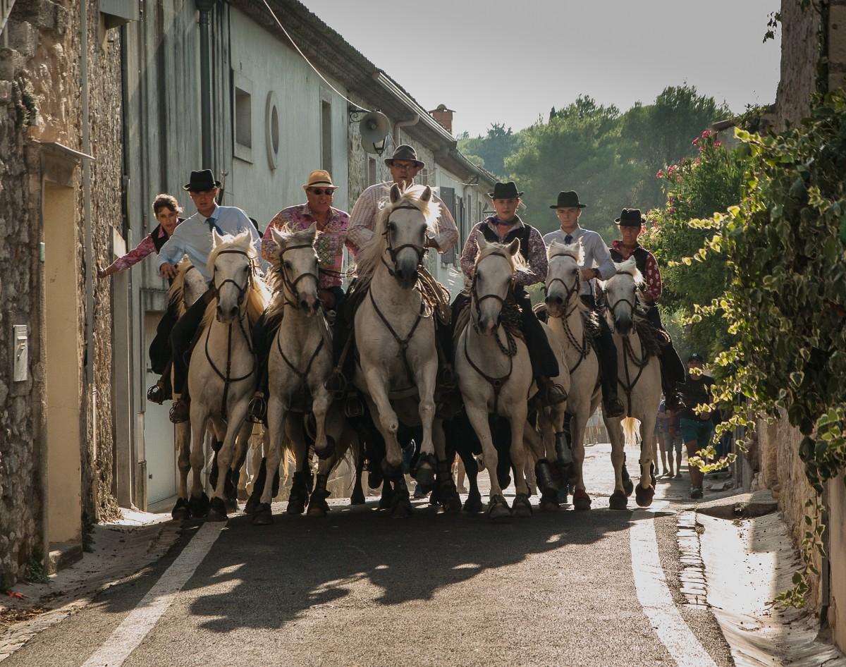 Camargue gardians (cowboys).