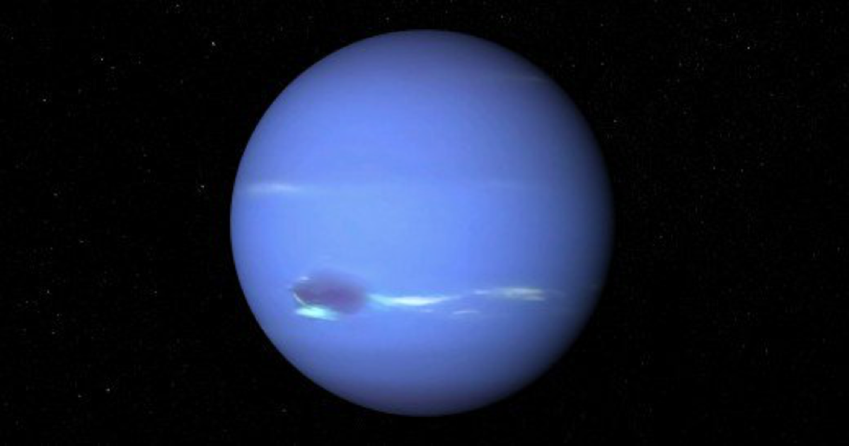 With the most sensitive planet, Neptune, in the most sensitive sign, Pisces, all over the globe we are spellbound by dreamlike screens, submerged in ourselves, and faith means more than reason. Source: NASA