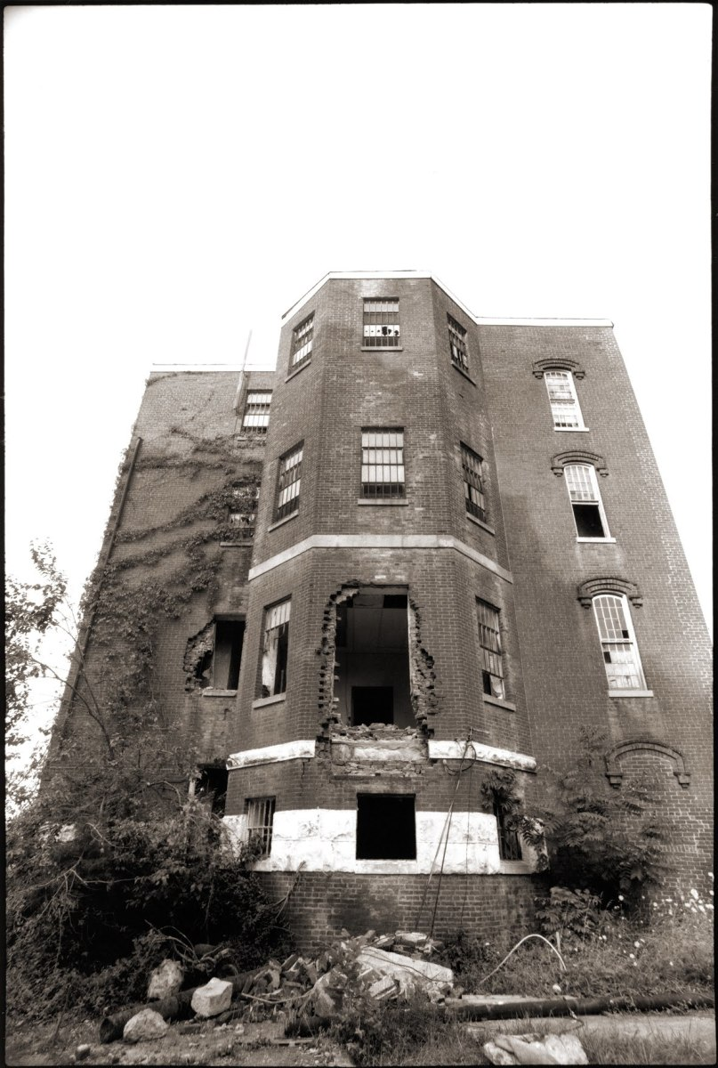 Lakeland Asylum before it was demolished in 1996