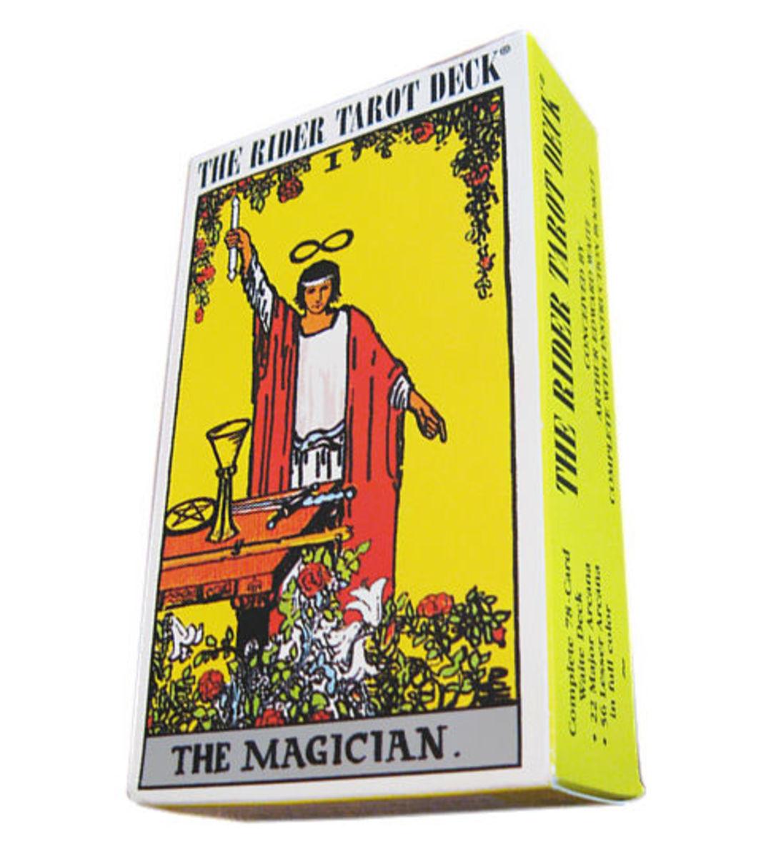 The Rider-Waite tarot deck.