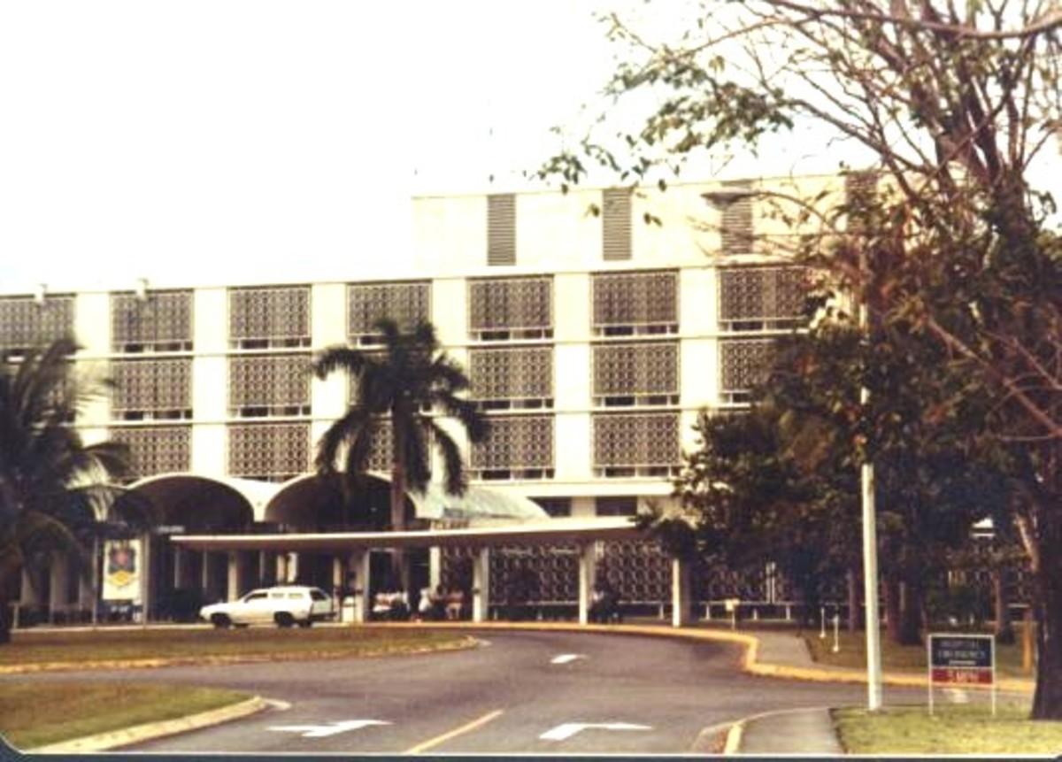 Clark Air Base Hospital Then