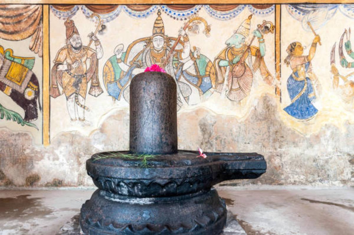 Shiva Linga, Brihadeshwara Temple, Tanjore, India