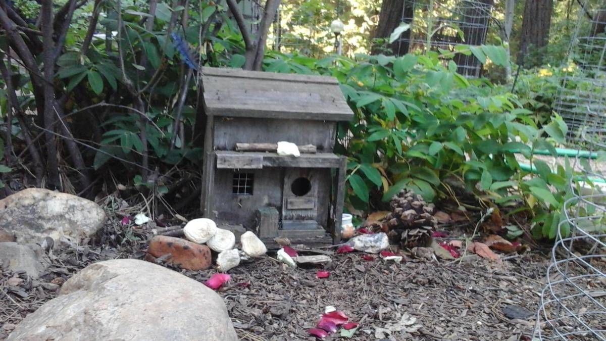 An example of a Faery House