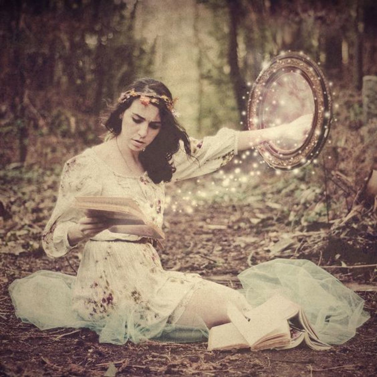 Mirrors can be portals to Faerie