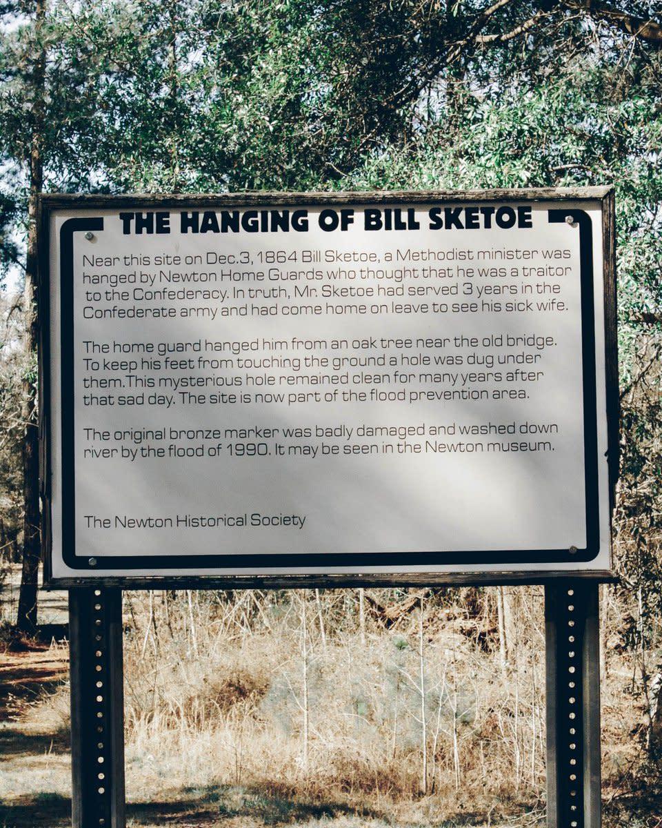 Bill Sketoe's Hole Haunted Alabama