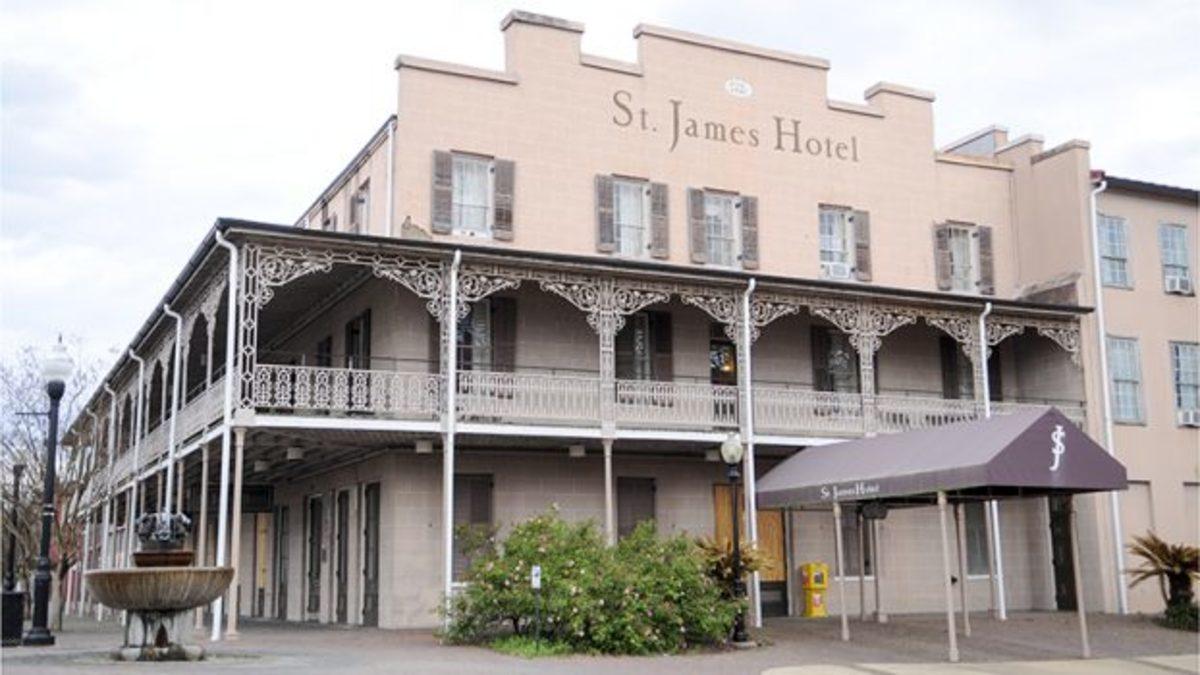 St. James Hotel Haunted Alabama