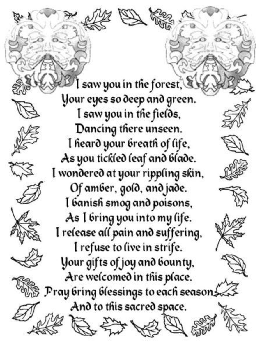 Prayer to the Greenman