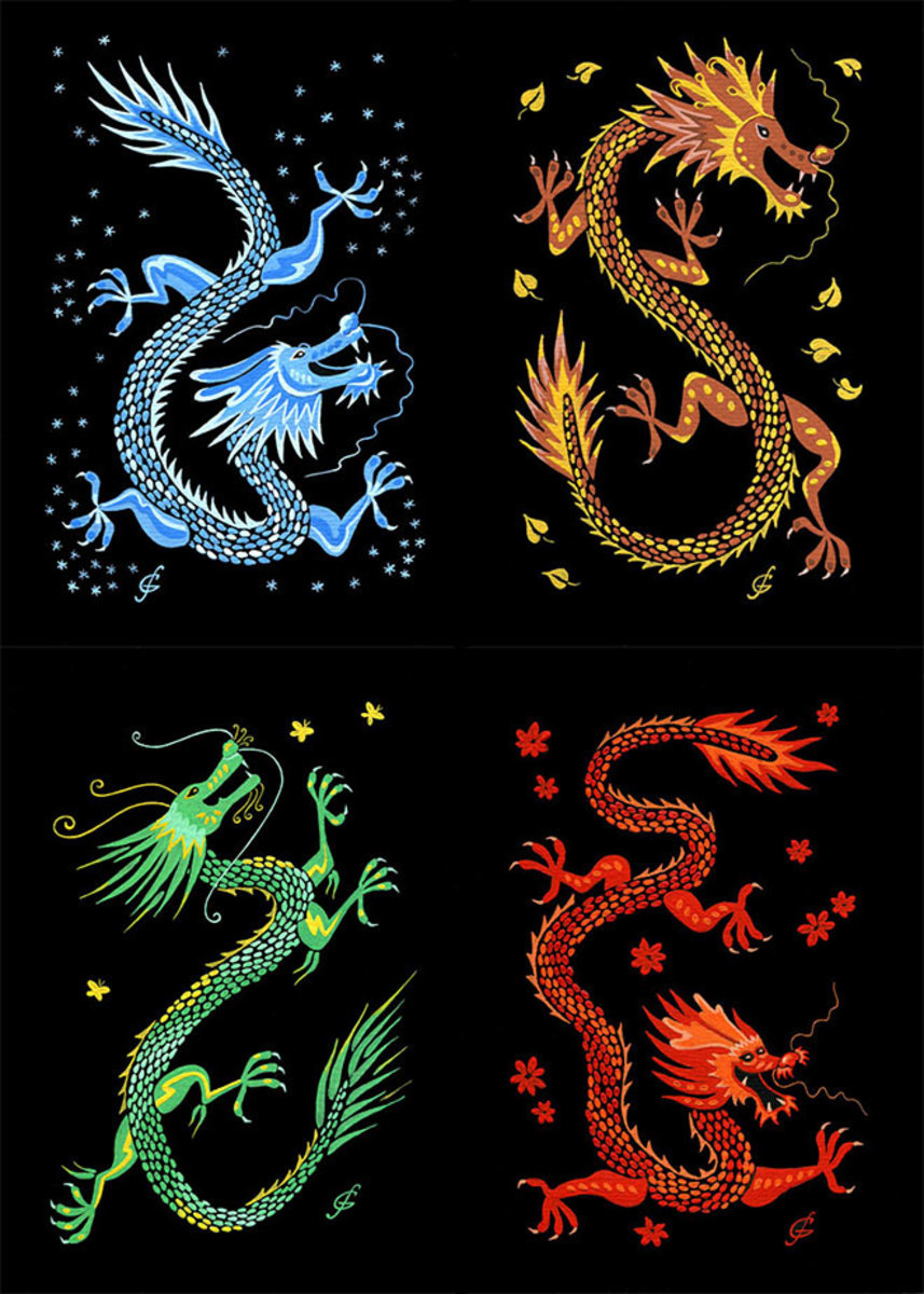 Seasonal Dragons