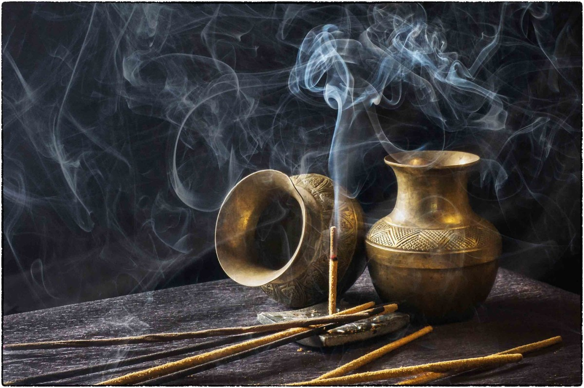 Incense is cheaper when acquired in bulk.
