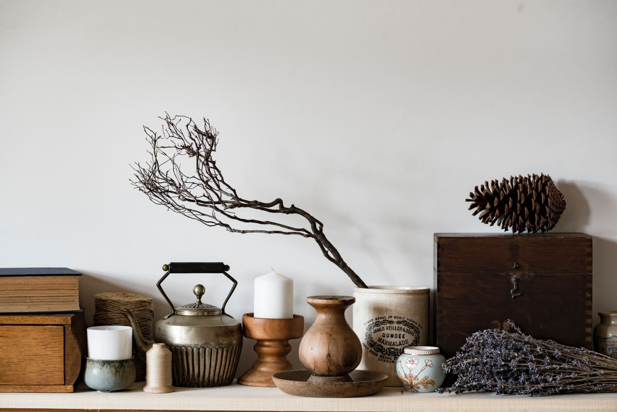Consider lighting when positioning your altar—do you like to practice in light or dark spaces?