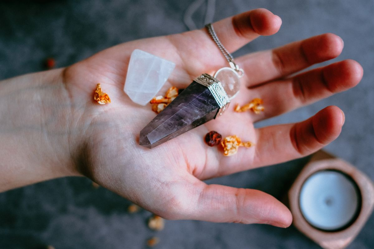 Jewelry can be cleansed or charged on your altar, then carried with you into your day.