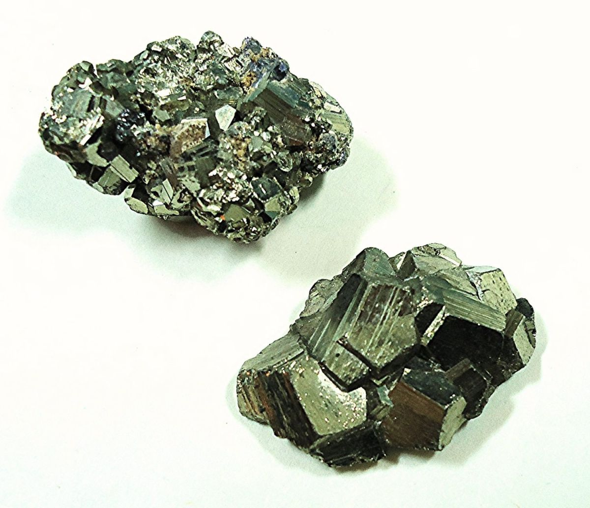 Iron pyrite is also known as fool's gold.