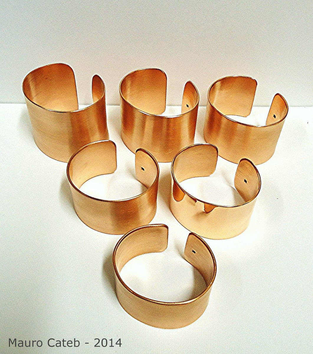 Copper bracelets are often used to ease aches, pains and inflammation.