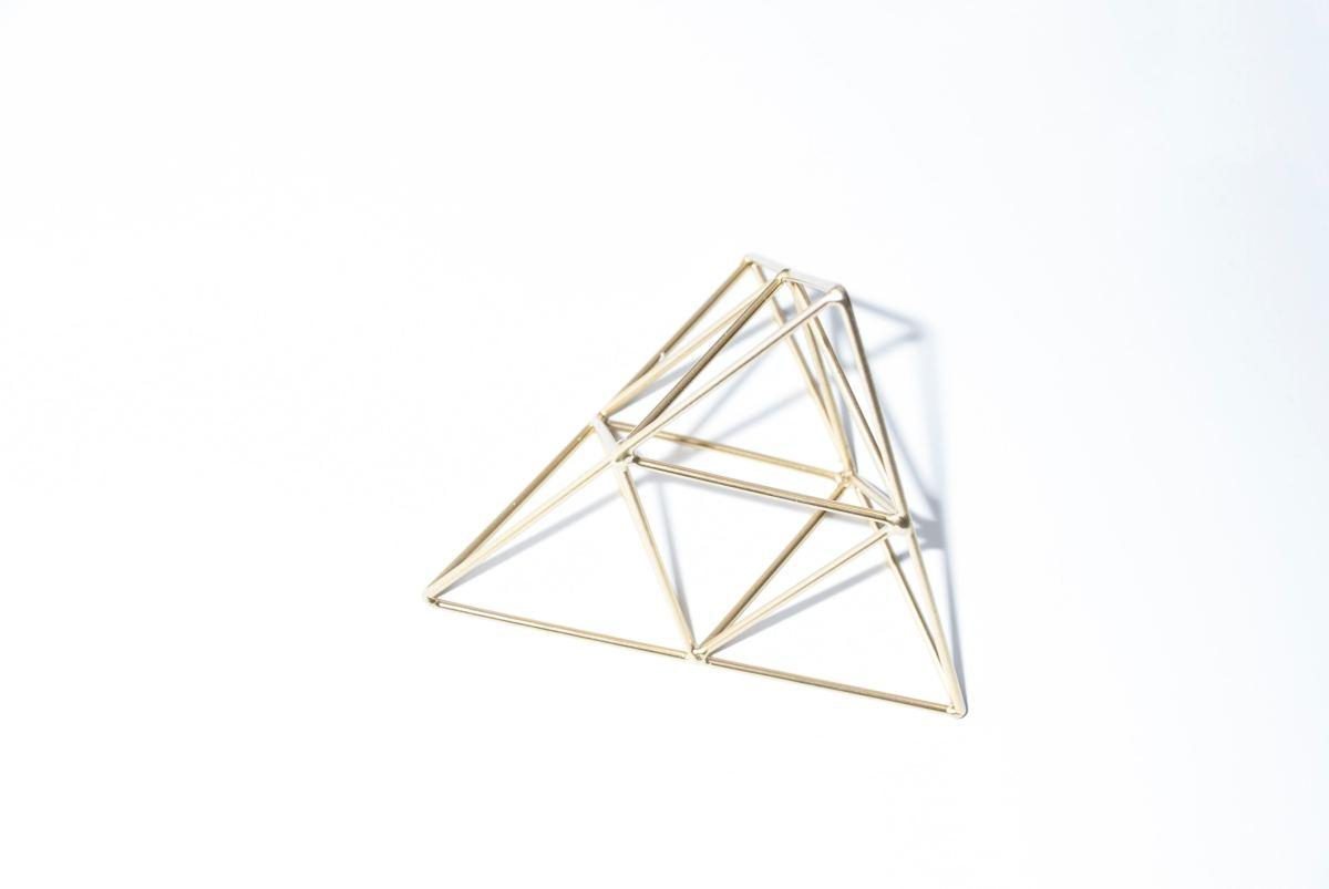 Triangle symbolize strength.