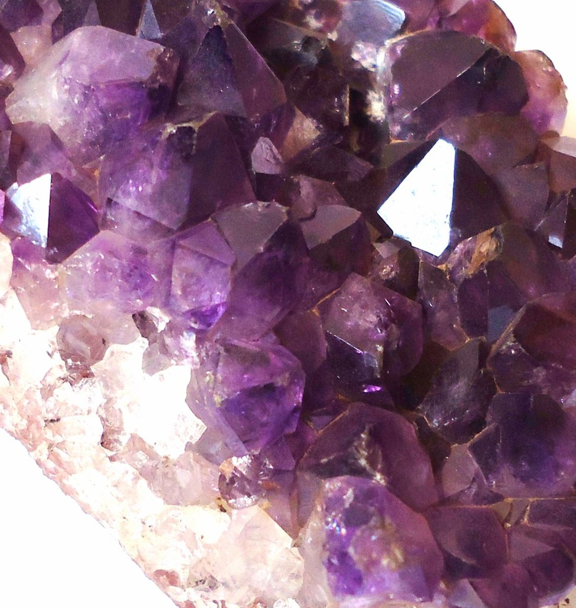 Amethyst crystal are greatly beneficial in healing.