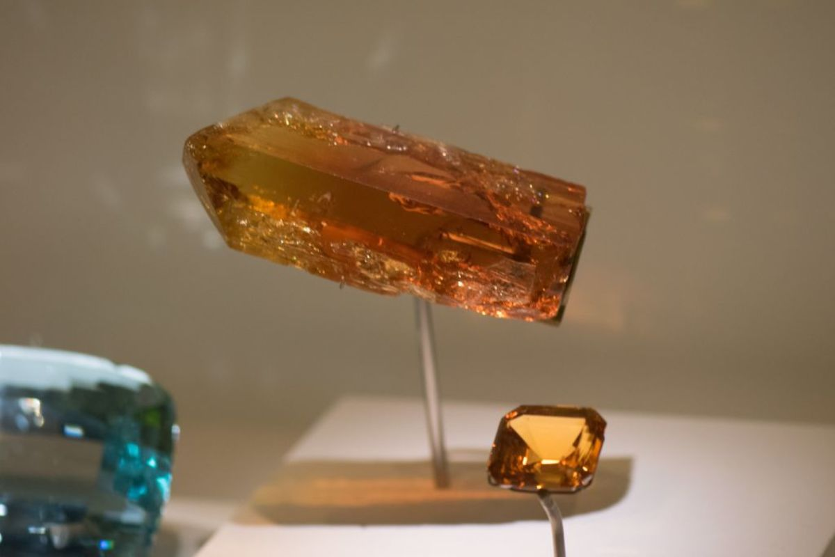 Imperial topaz can be used to enhance meditation.