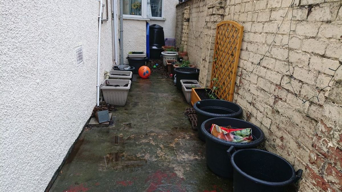 Pots and containers can be used on patios, balconies and other hard surfaces.