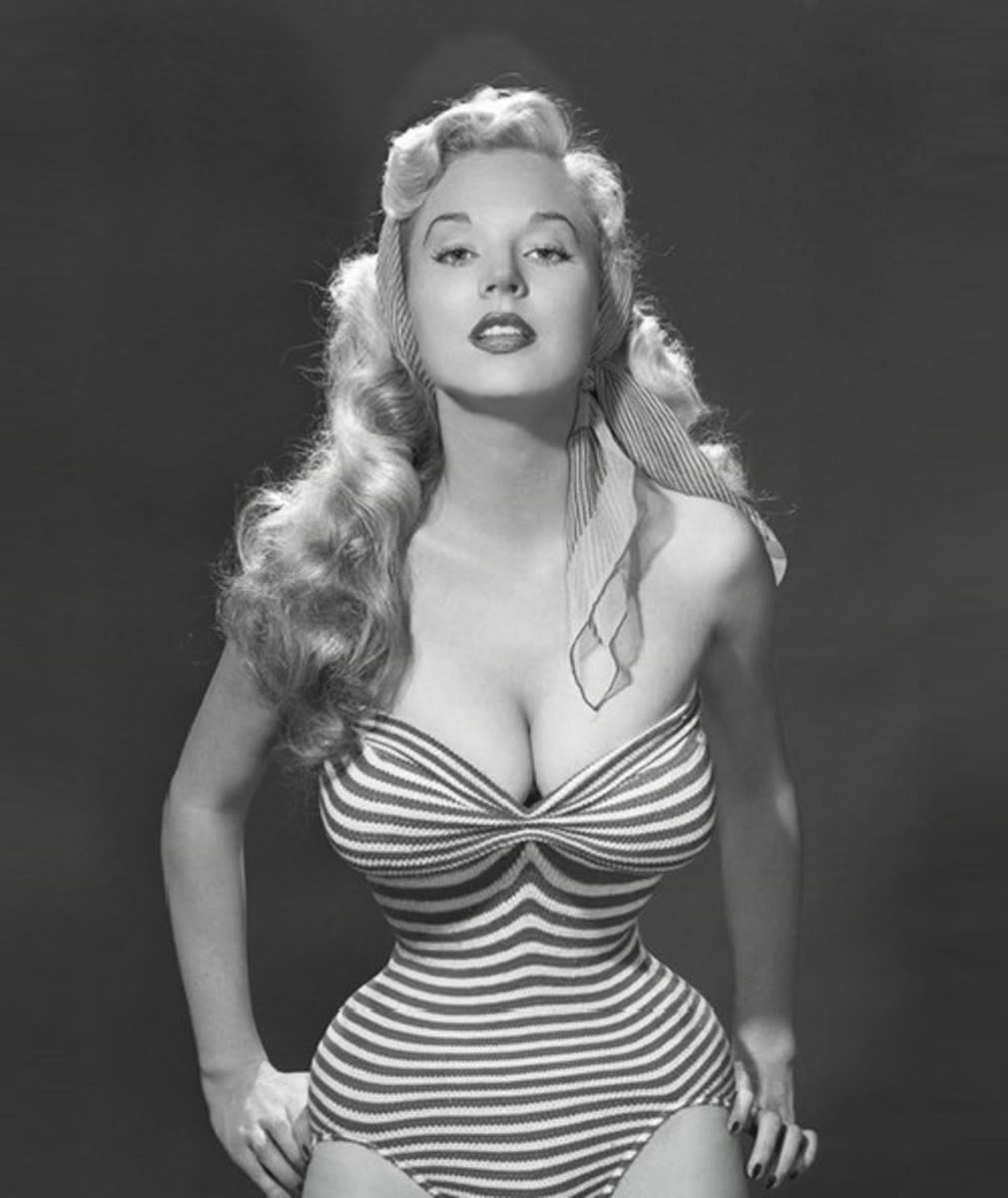 Betty Brosman Weider, 1950s; birthday August 2