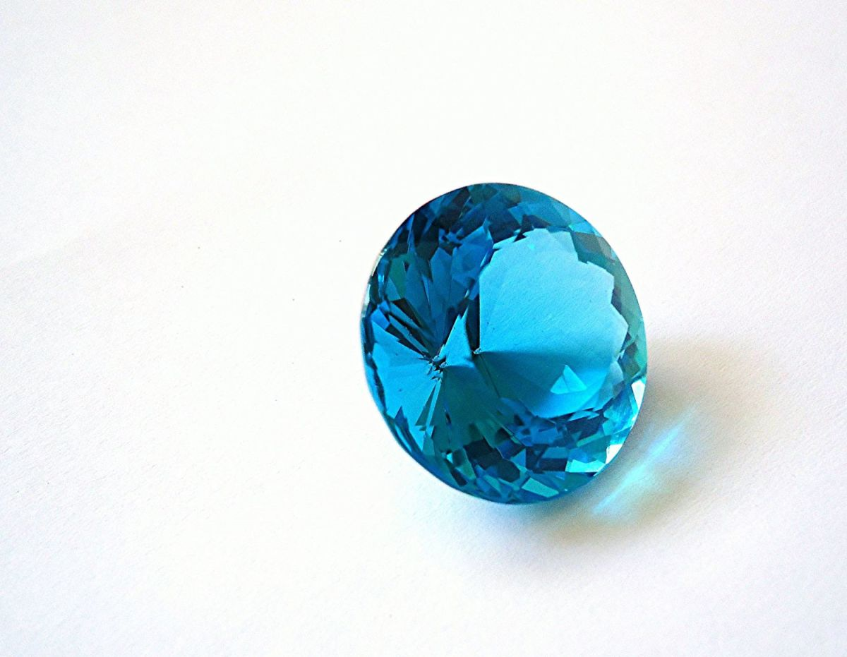 Blue topaz is generally regarded as the traditional stone for Sagittarians.