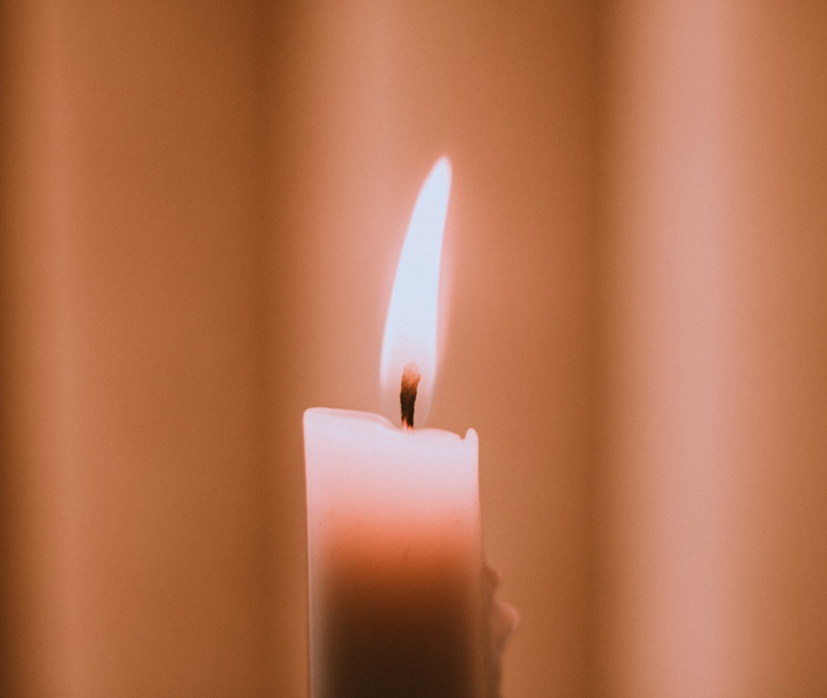 Healing candle spell.