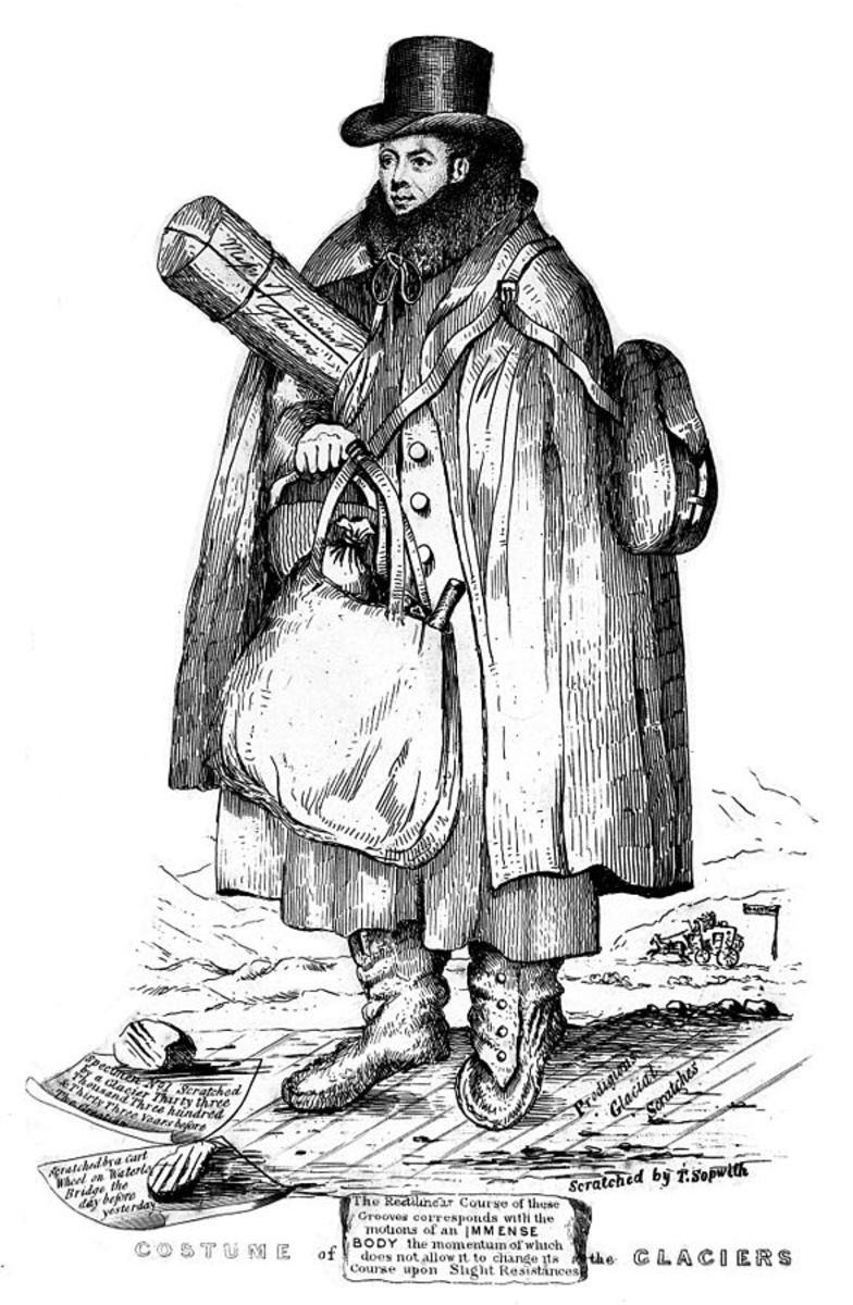 A caricature of William Buckland.