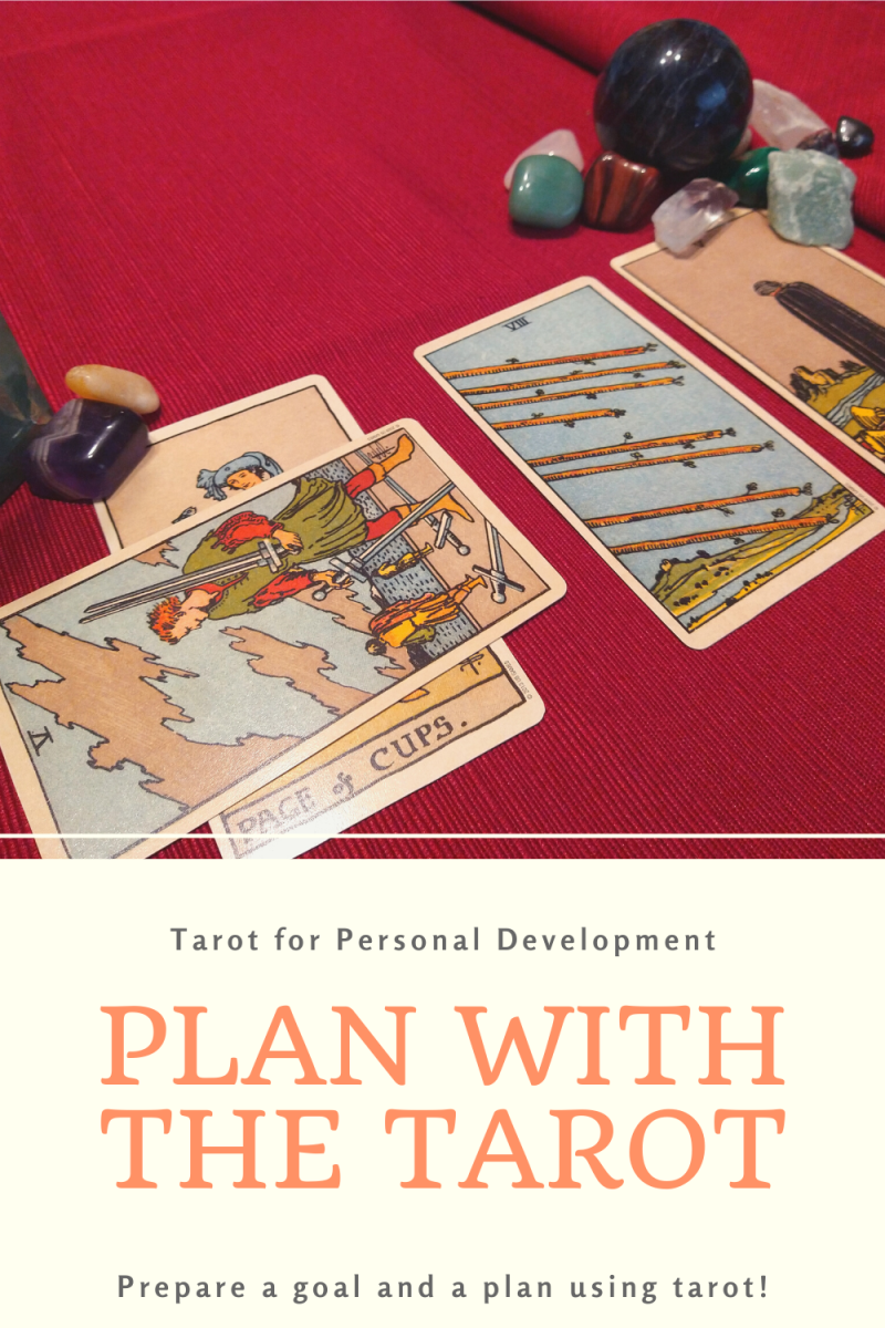 Use tarot to predict whether your goals will succeed with these straight forward steps to refining your goals and your plan.