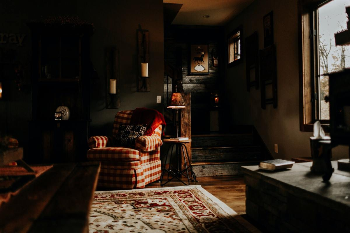 Scan the house for forgotten or haunted belongings.