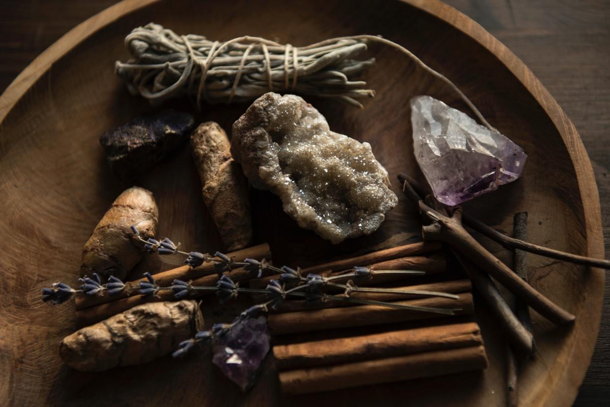 Gather your spiritual tools.