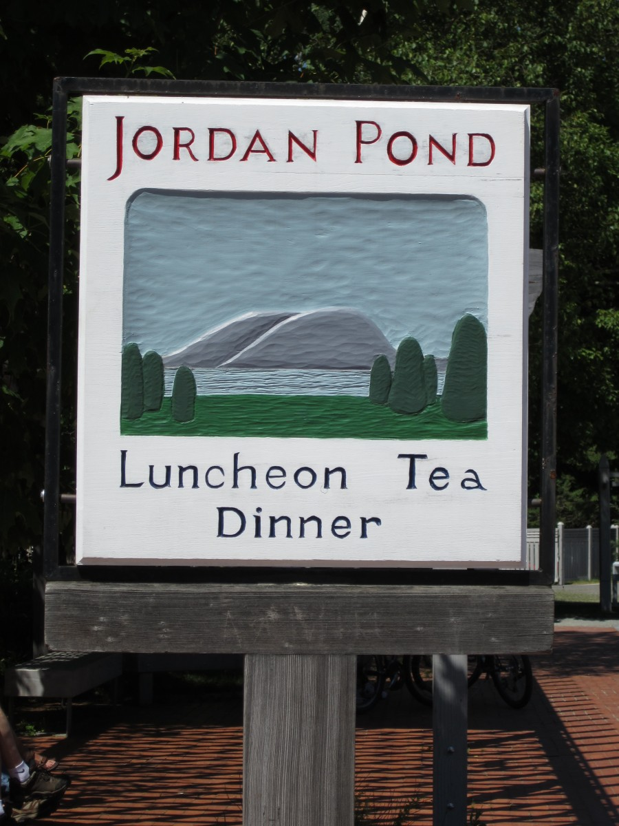 Jordan Pond House Sign