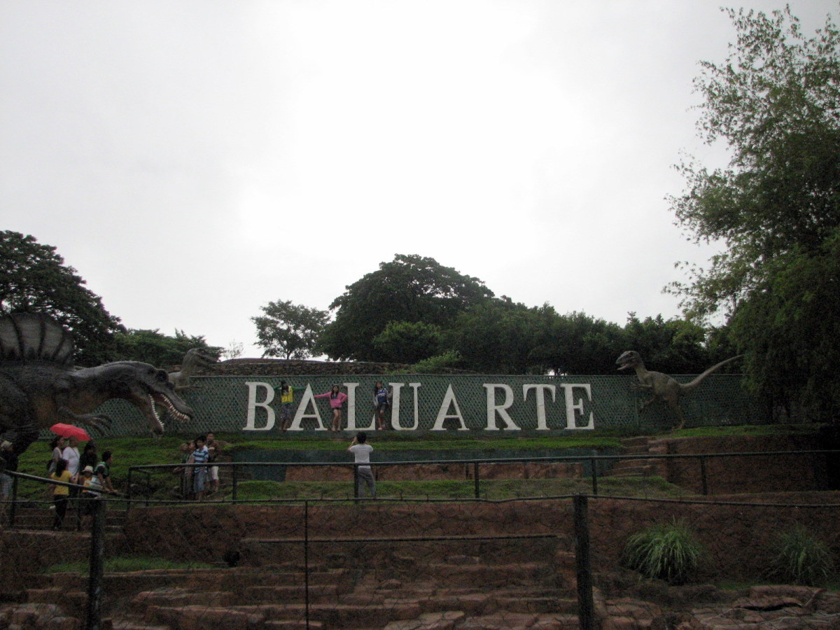 the Baluarte mini zoo