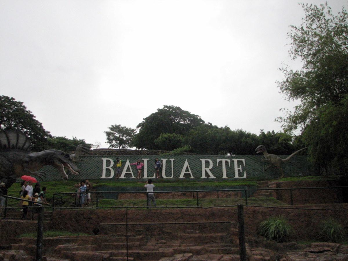 the Baluarte mini zoo