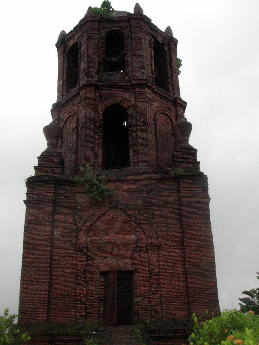 Bell tower at Saint Augustine Church