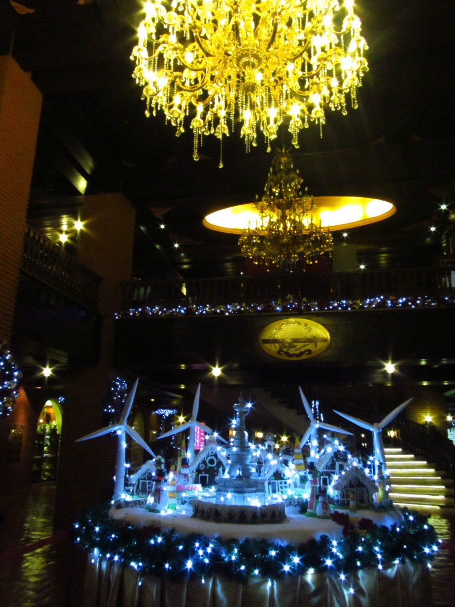 Update as of our third visit to Ilocos 2014: The lobby of the Fort Ilocandia Resort and Hotel