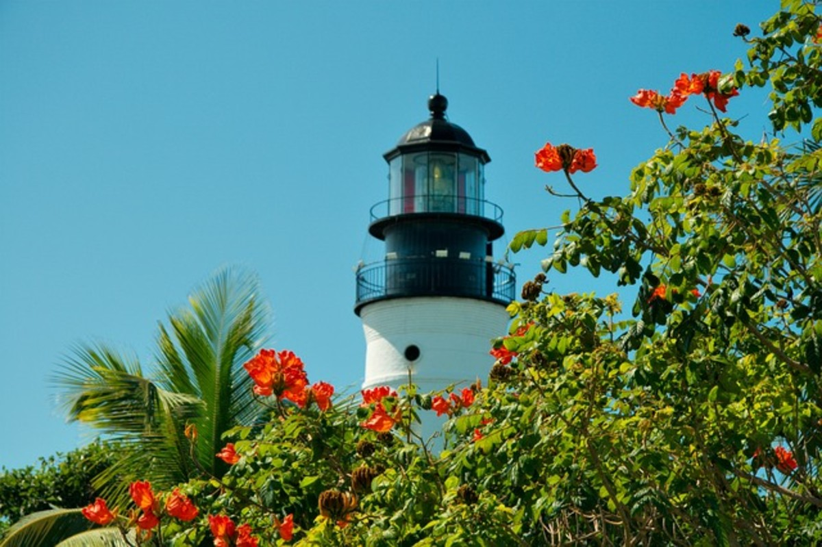 "Lighthouse.  The Florida Keys have historical associations with pirates, smuggling, and shipwrecks.  In modern times, it is the smuggling of illegal drugs that causes problems.  There can also be issues with Cuban and Haitian ""boat people""."