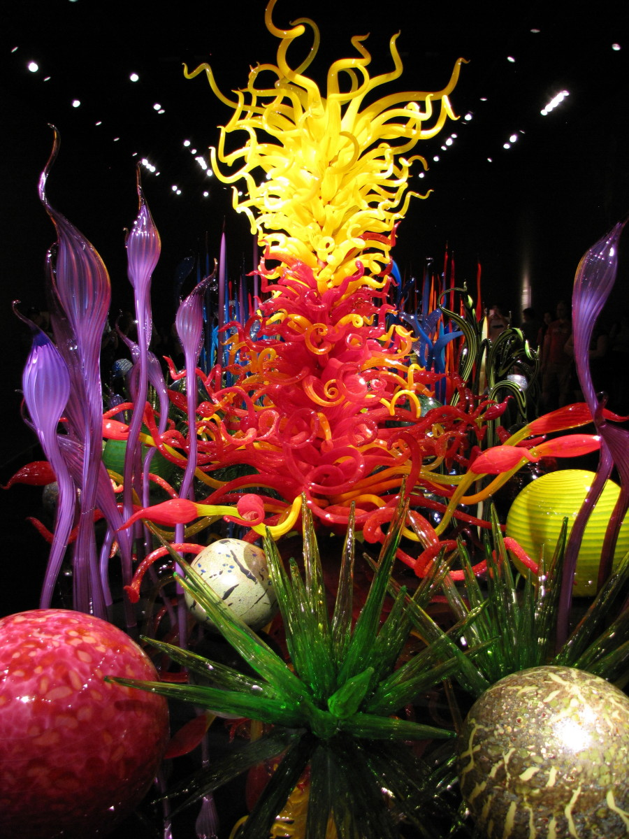 Visiting the chihuly garden and glass museum at the - Chihuly garden and glass discount tickets ...