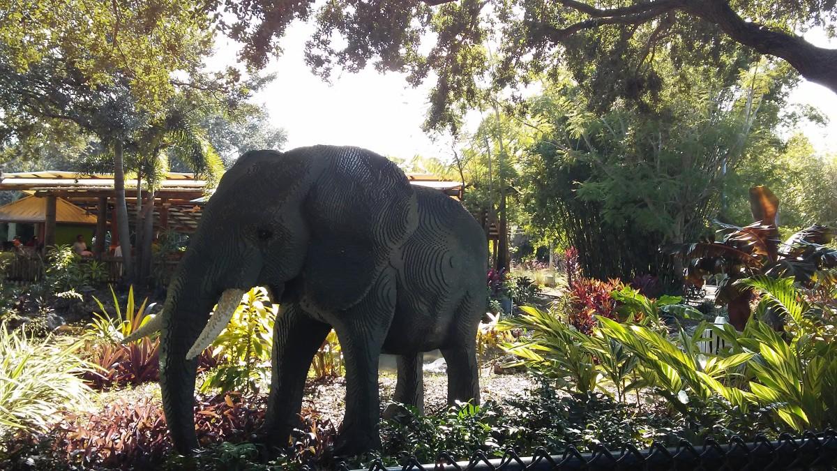 Lego Elephant.