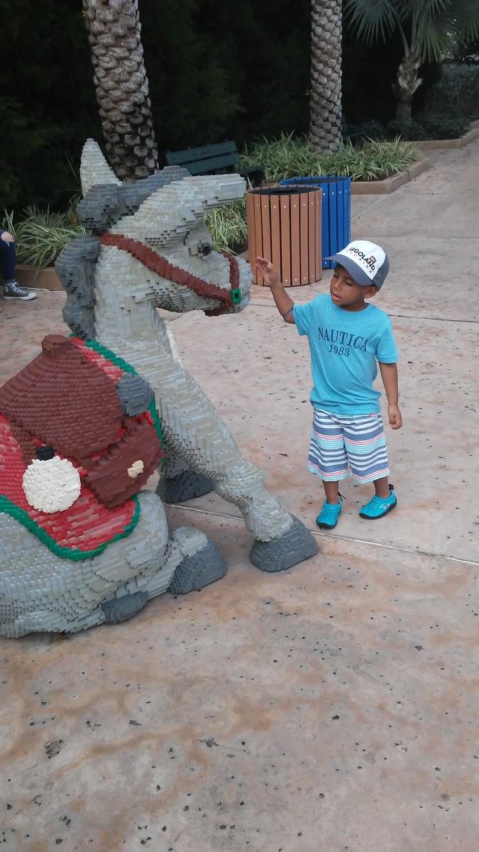 Lego Donkey.