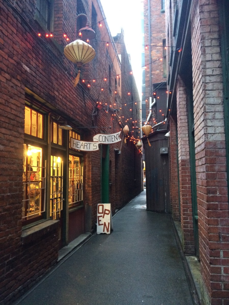 Fan Tan Alley - Chinatown