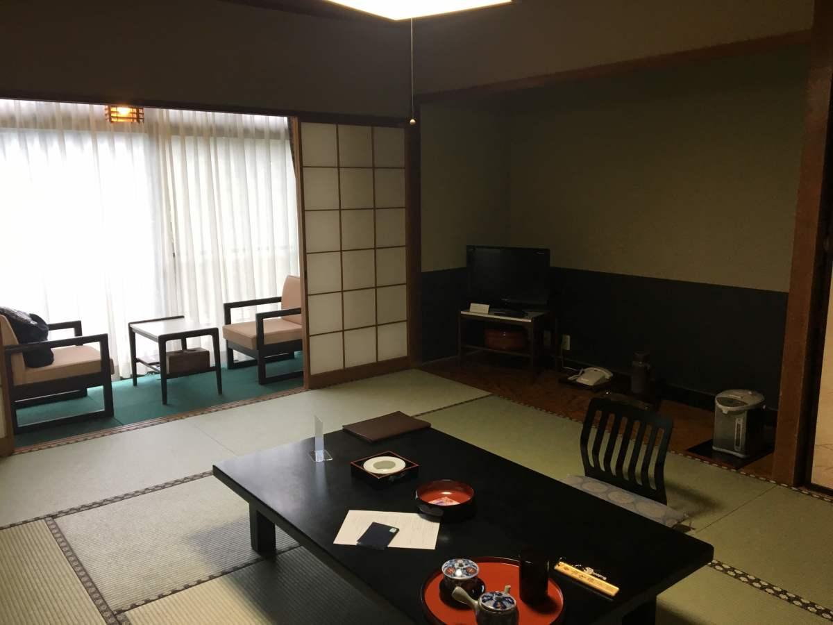 My room before dinner....