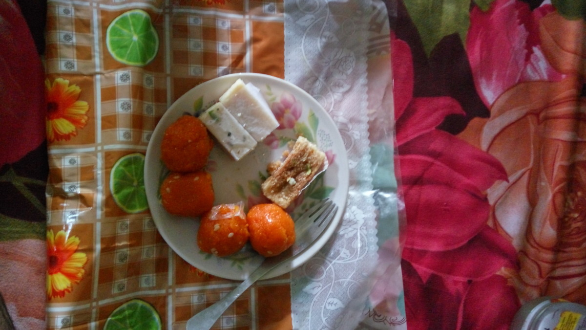 Nepali sweets I got to try in Birganj