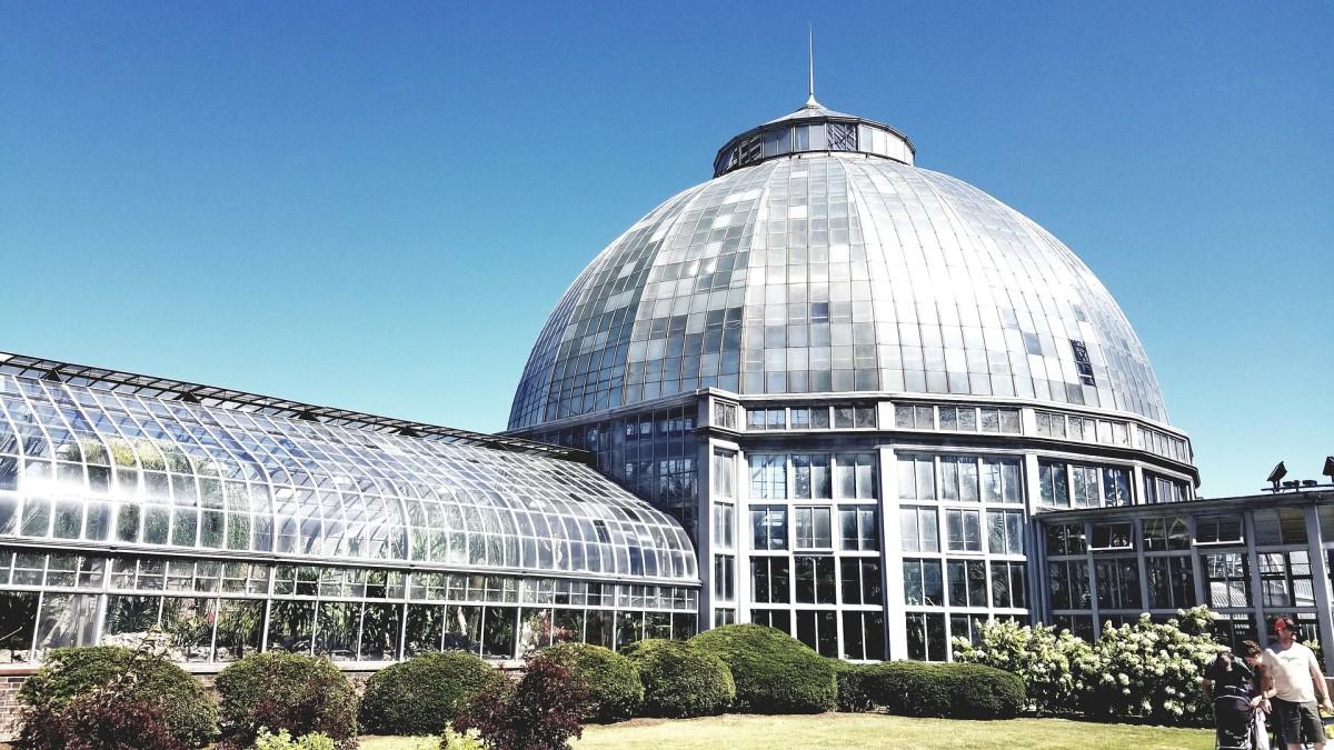 Belle Isle Greenhouse Gardens by KeenPixArt