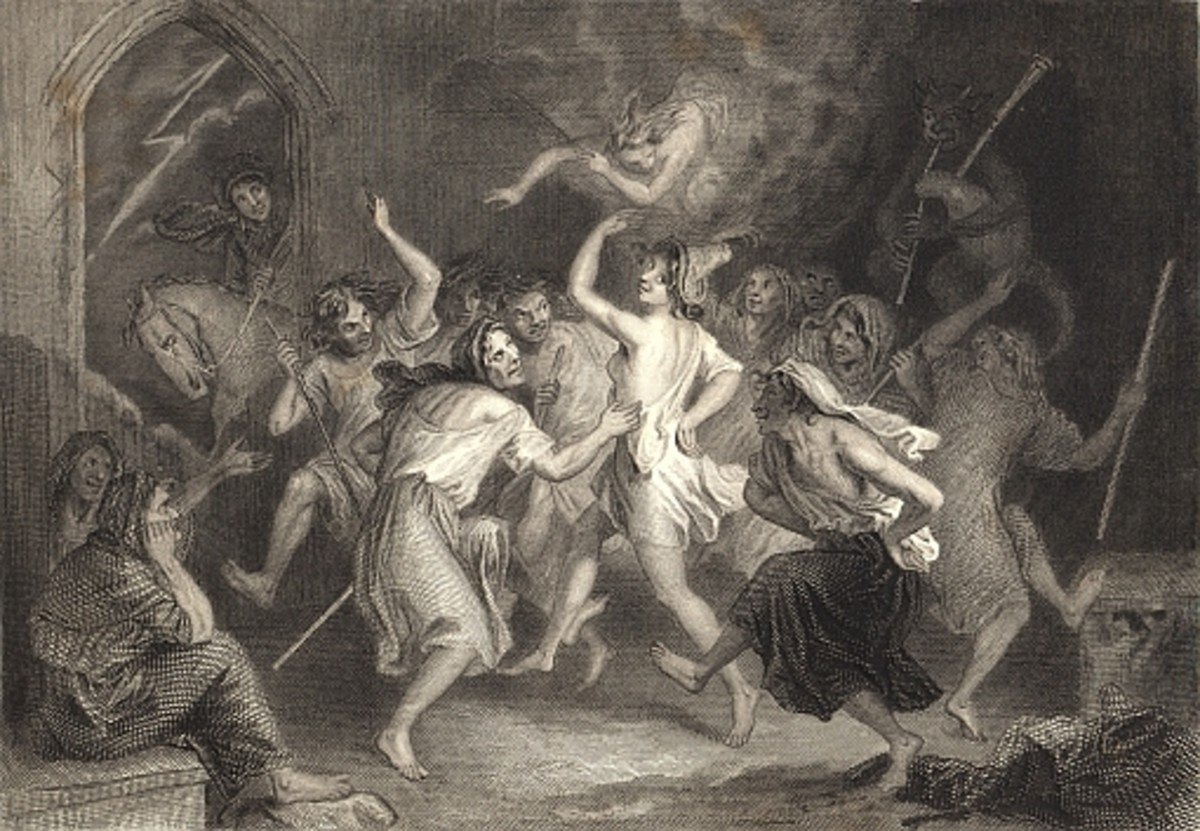 From Robert Burn's Tam-o-Shanter: Witches and Warlocks