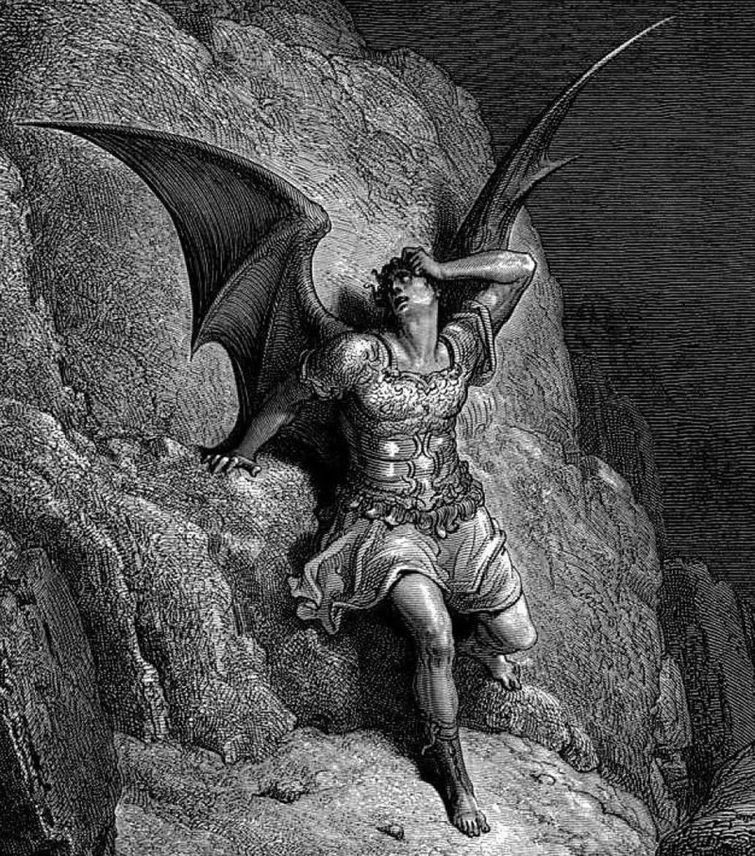 Lucifer - Paradise Lost (Gustave Dore 1832-1883)