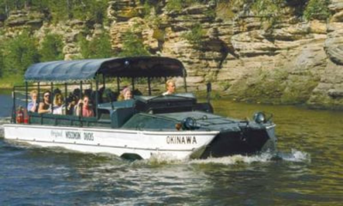 Lower Dells Boat Tour. Tour the region which features famous landmarks such as the Rocky Islands, Hawk's Bill, and Baby Grand Piano. This is a one hour tour enjoying the history and folklore of the area.
