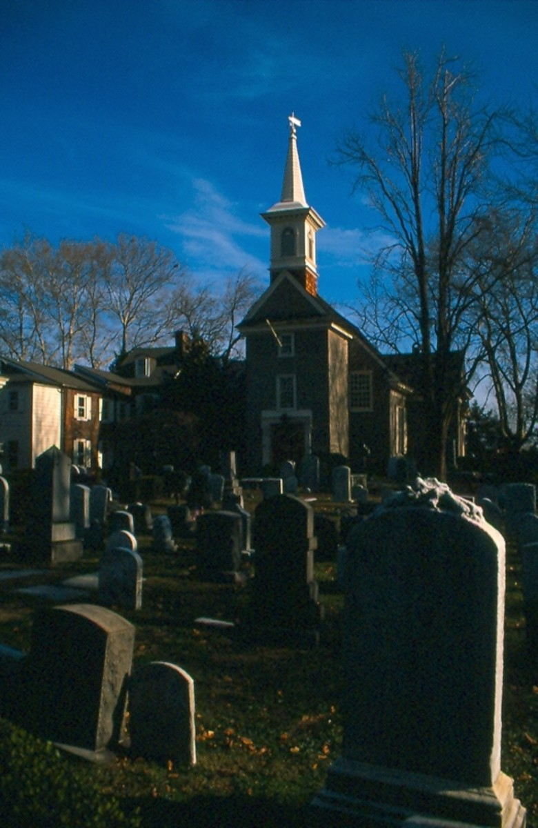 Gloria Dei (Swedes' Church) in South Philadelphia