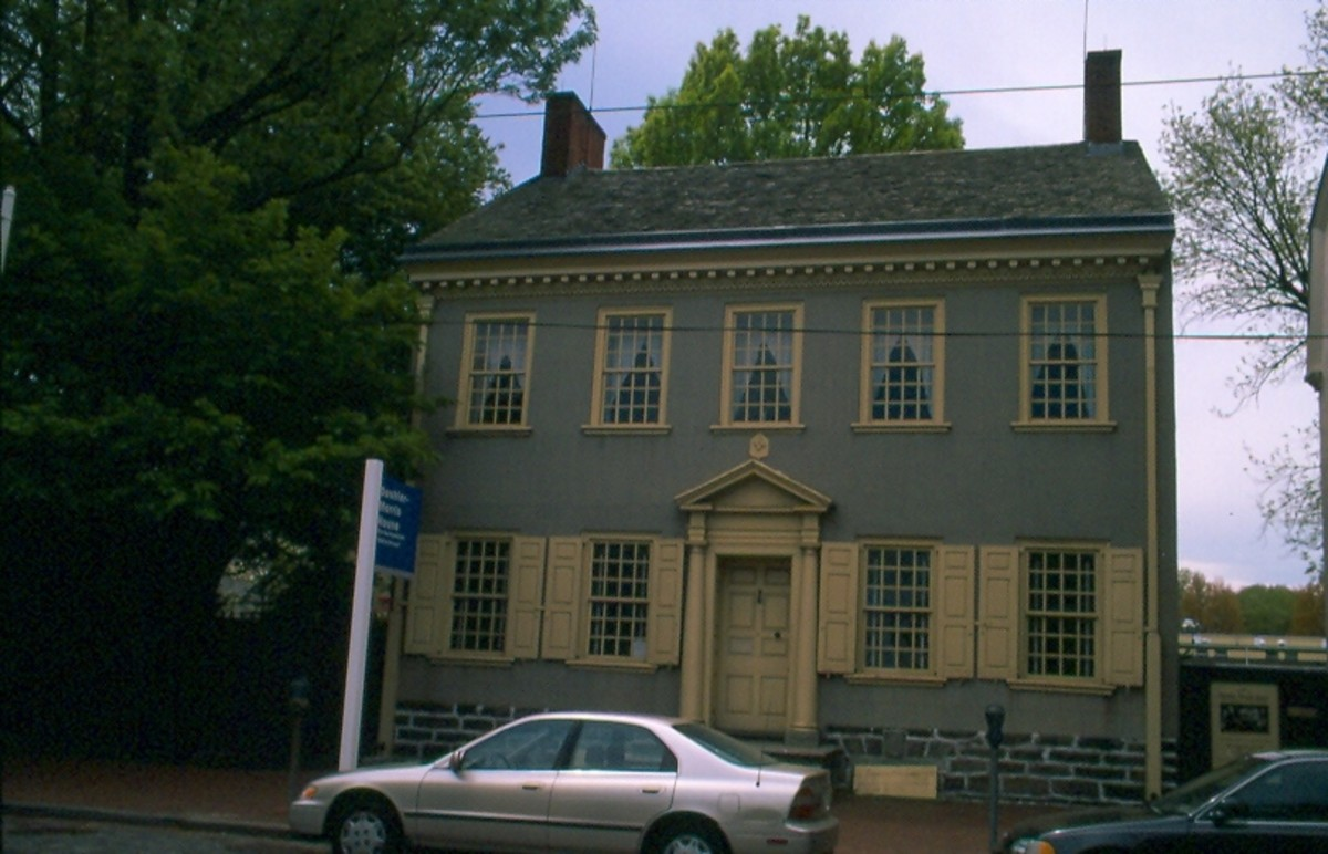 Deshler-Morris House, Germantown.