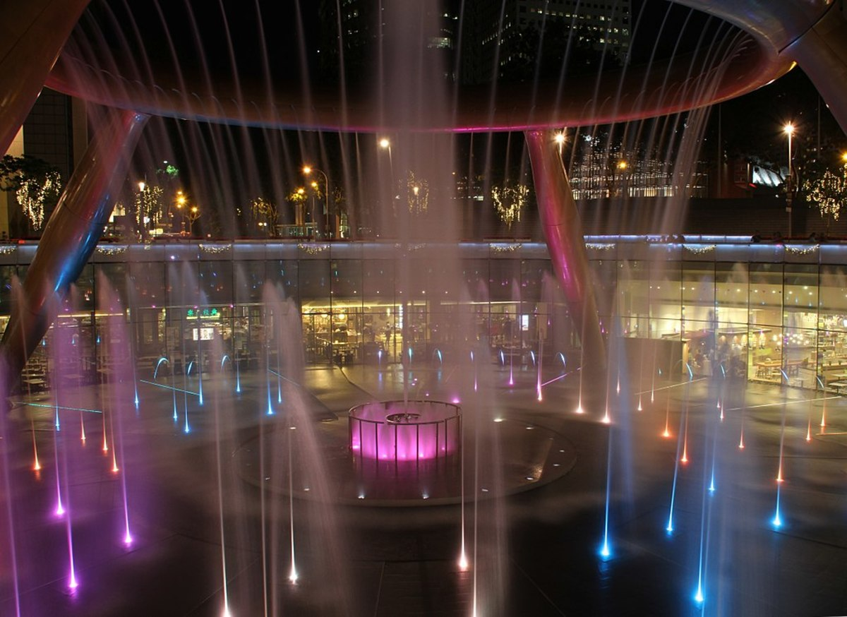 The Fountain of Wealth at Suntec City.